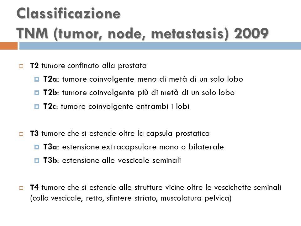 Classificazione TNM (tumor, node, metastasis) 2009