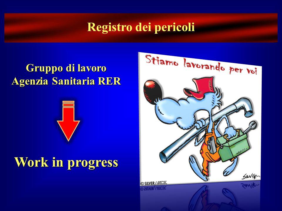 Gruppo di lavoro Agenzia Sanitaria RER