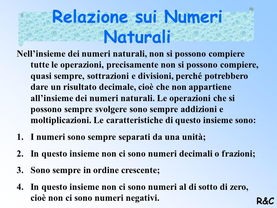 Relazione sui Numeri Naturali