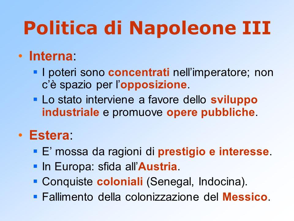 Politica di Napoleone III