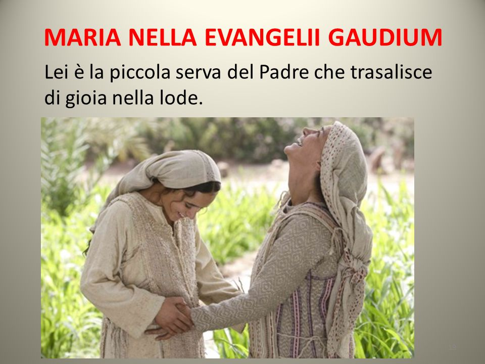 MARIA NELLA EVANGELII GAUDIUM