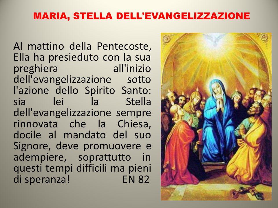 MARIA, STELLA DELL EVANGELIZZAZIONE