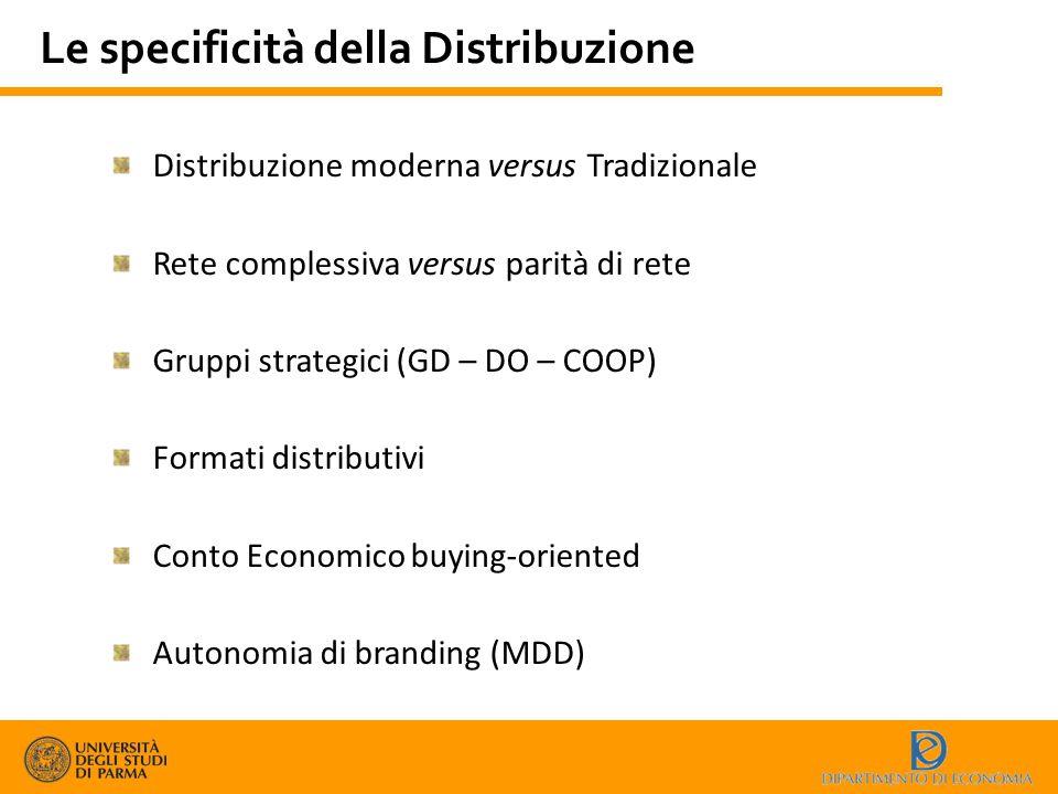 Le specificità della Distribuzione