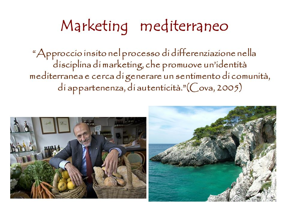 Marketing mediterraneo