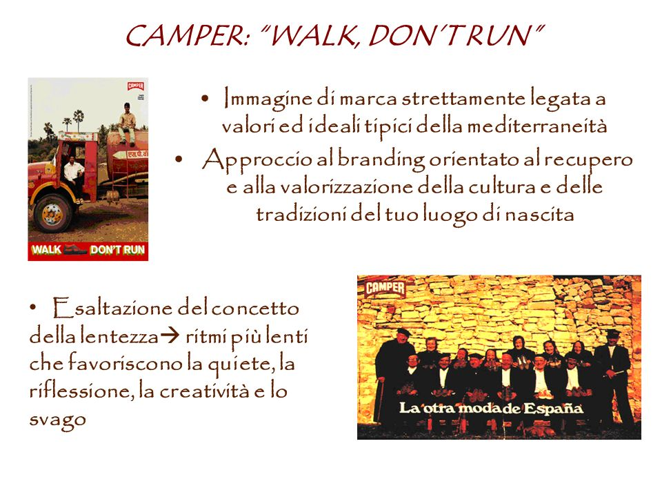 CAMPER: WALK, DON'T RUN