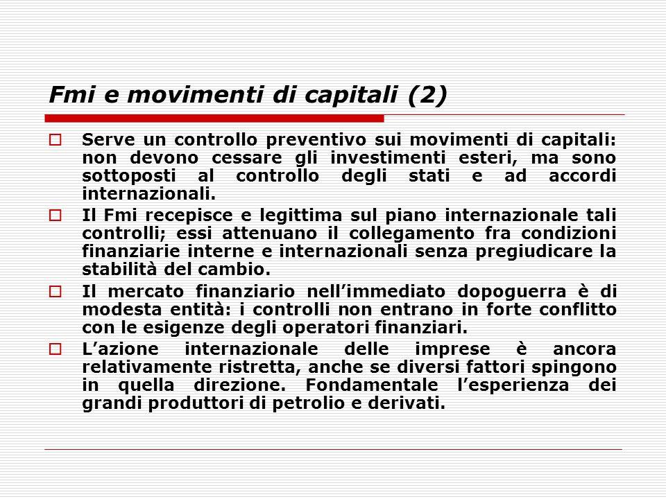 Fmi e movimenti di capitali (2)