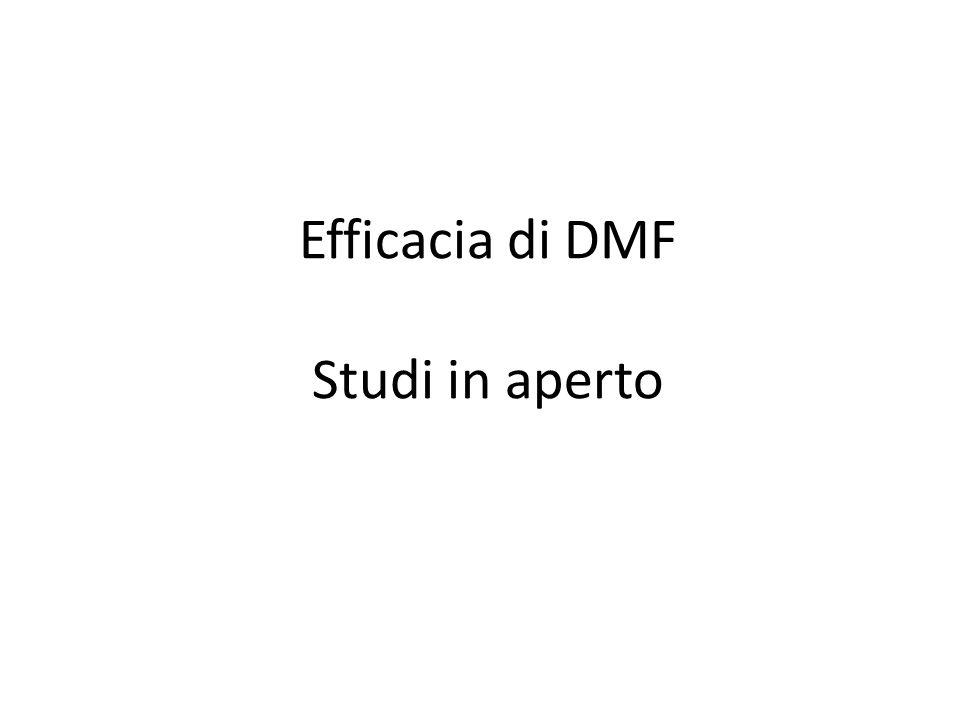 Efficacia di DMF Studi in aperto