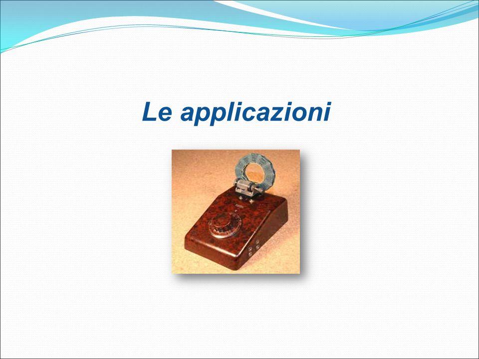 Le applicazioni 22