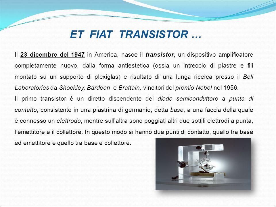 ET FIAT TRANSISTOR …