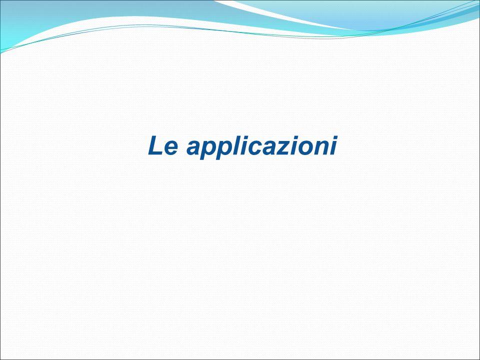 Le applicazioni 31