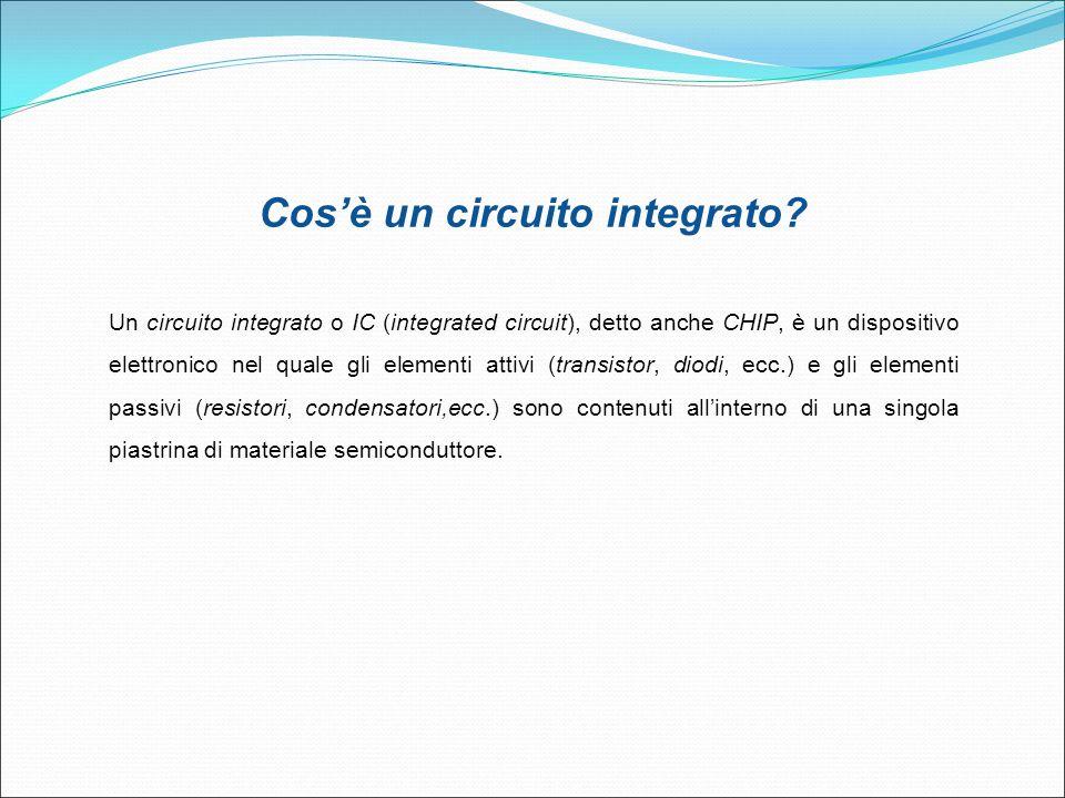 Cos'è un circuito integrato