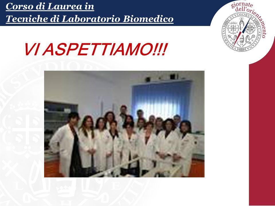 Corso di Laurea in Tecniche di Laboratorio Biomedico