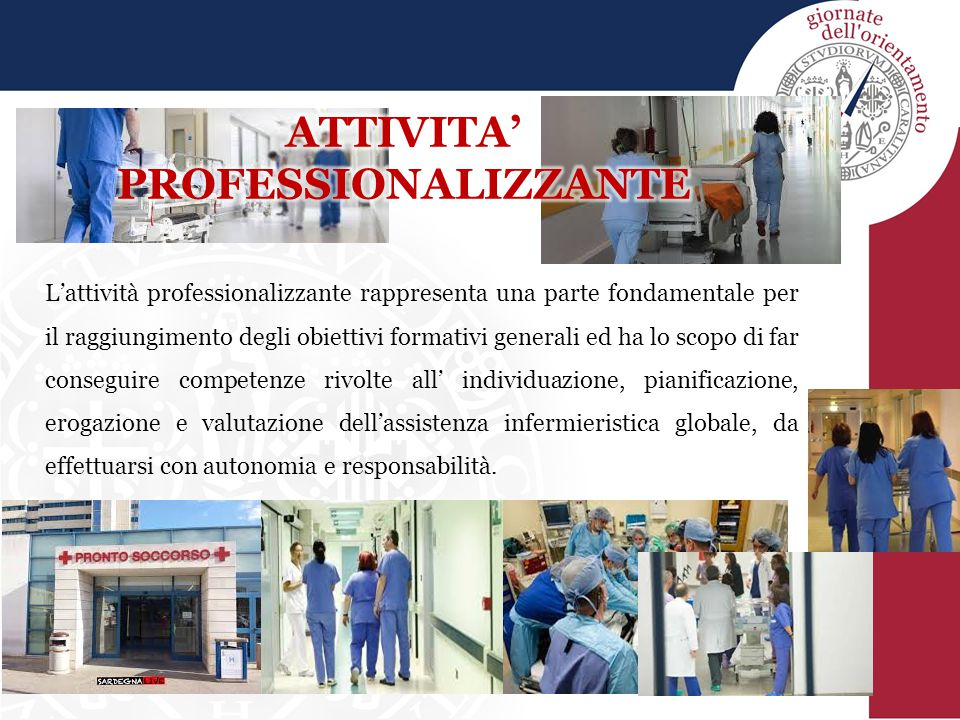 ATTIVITA' PROFESSIONALIZZANTE
