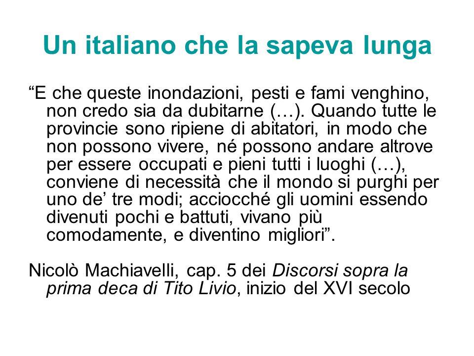 Un italiano che la sapeva lunga