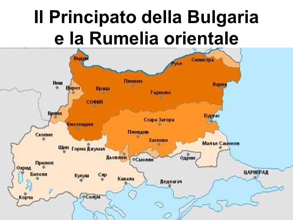 Il Principato della Bulgaria e la Rumelia orientale