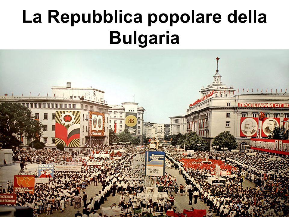 La Repubblica popolare della Bulgaria