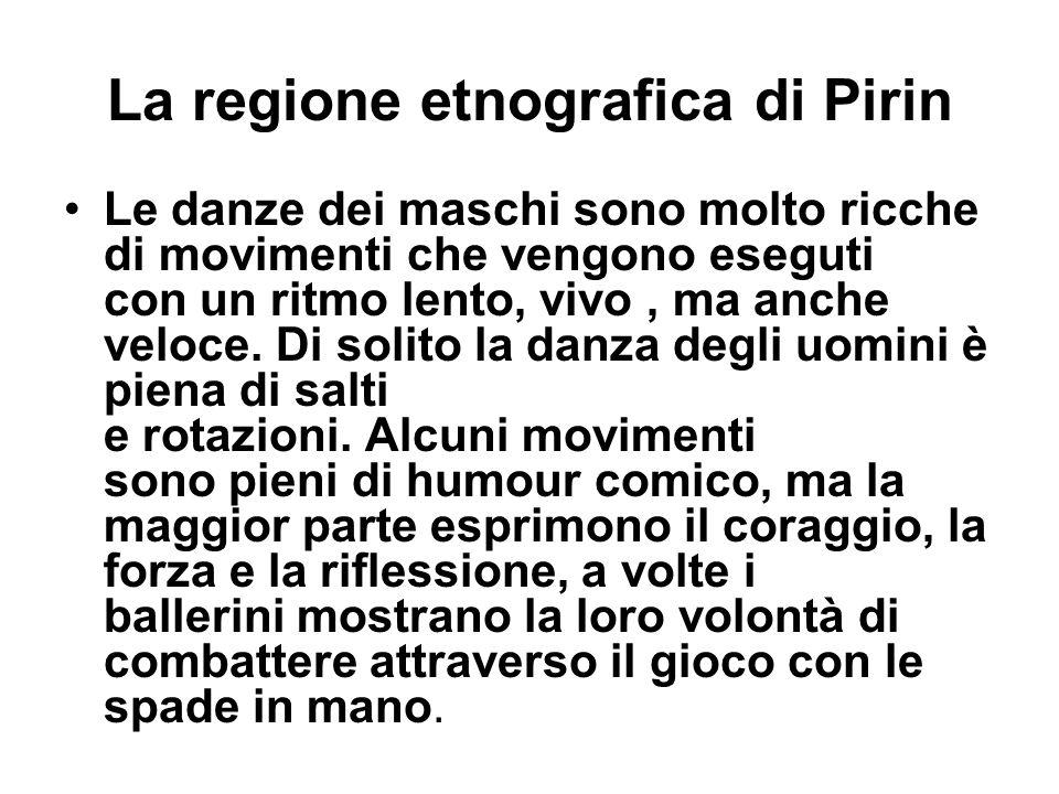 La regione etnografica di Pirin