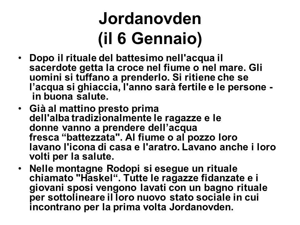 Jordanovden (il 6 Gennaio)