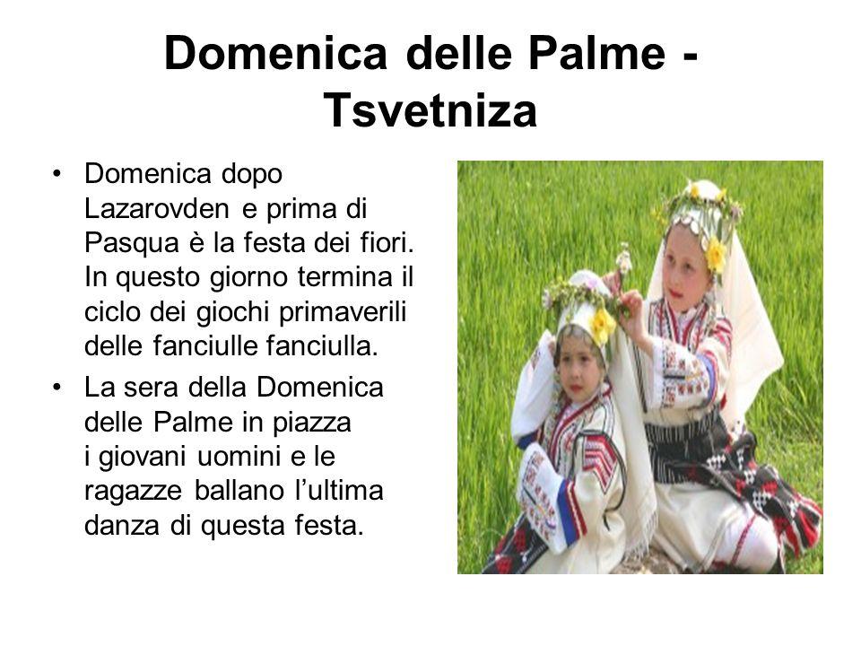 Domenica delle Palme - Tsvetniza
