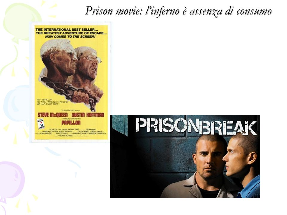 Prison movie: l'inferno è assenza di consumo