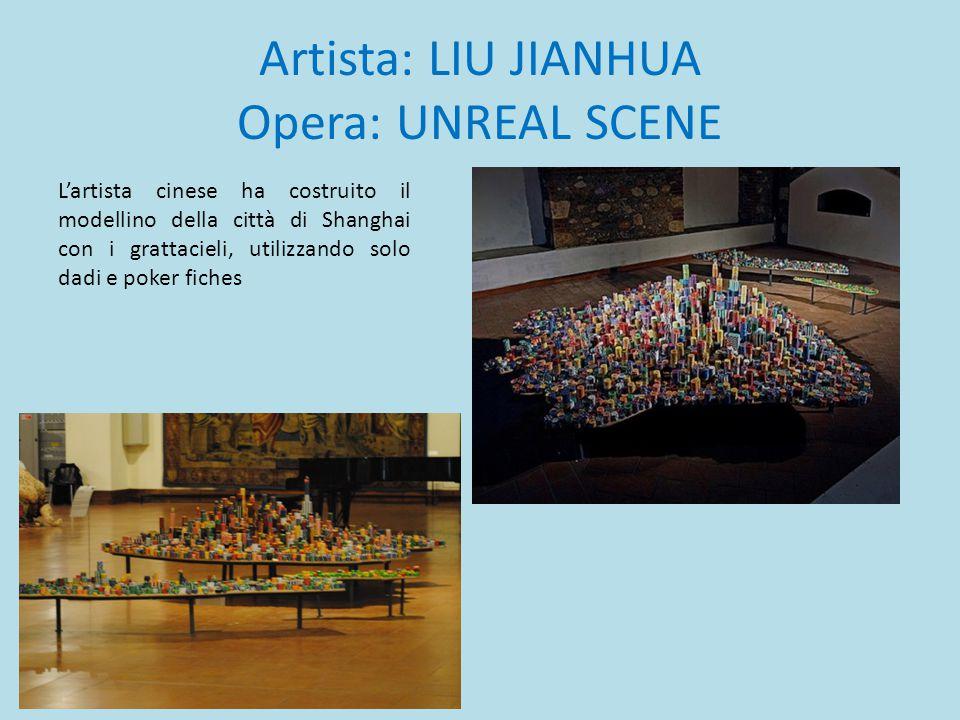Artista: LIU JIANHUA Opera: UNREAL SCENE