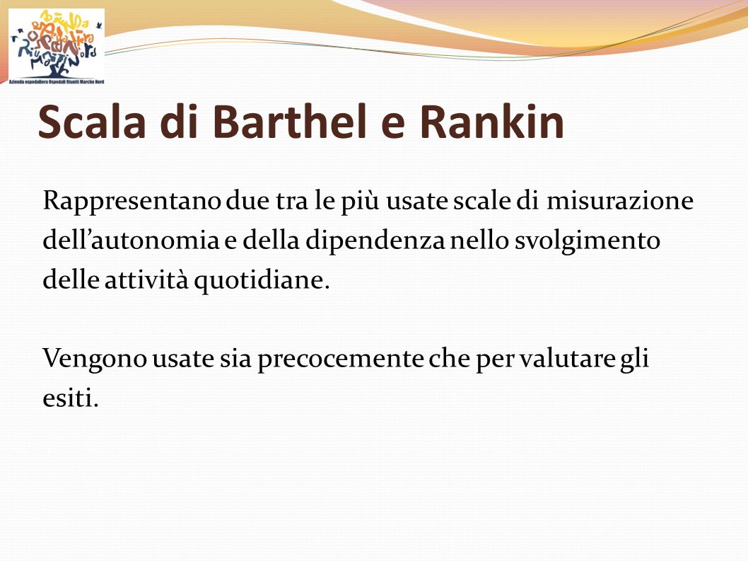 Scala di Barthel e Rankin
