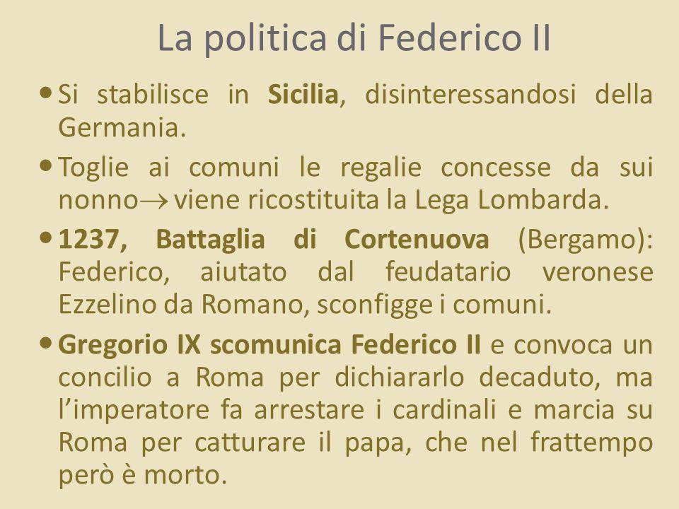 La politica di Federico II
