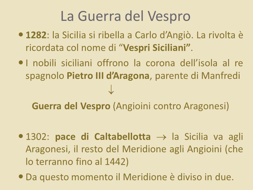 Guerra del Vespro (Angioini contro Aragonesi)