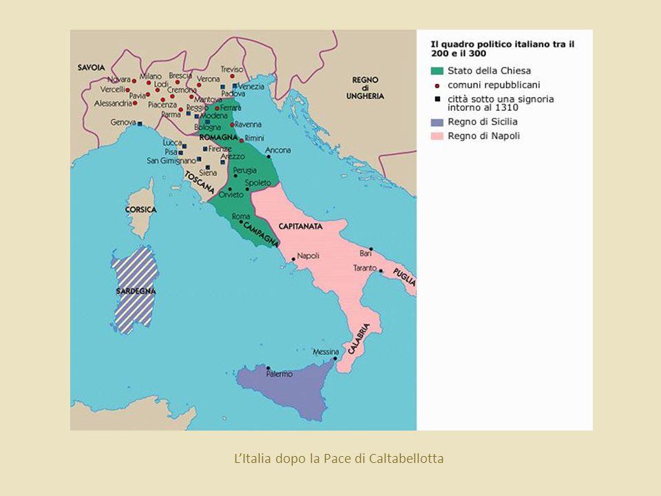 L'Italia dopo la Pace di Caltabellotta