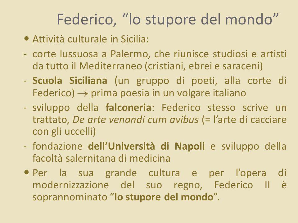 Federico, lo stupore del mondo