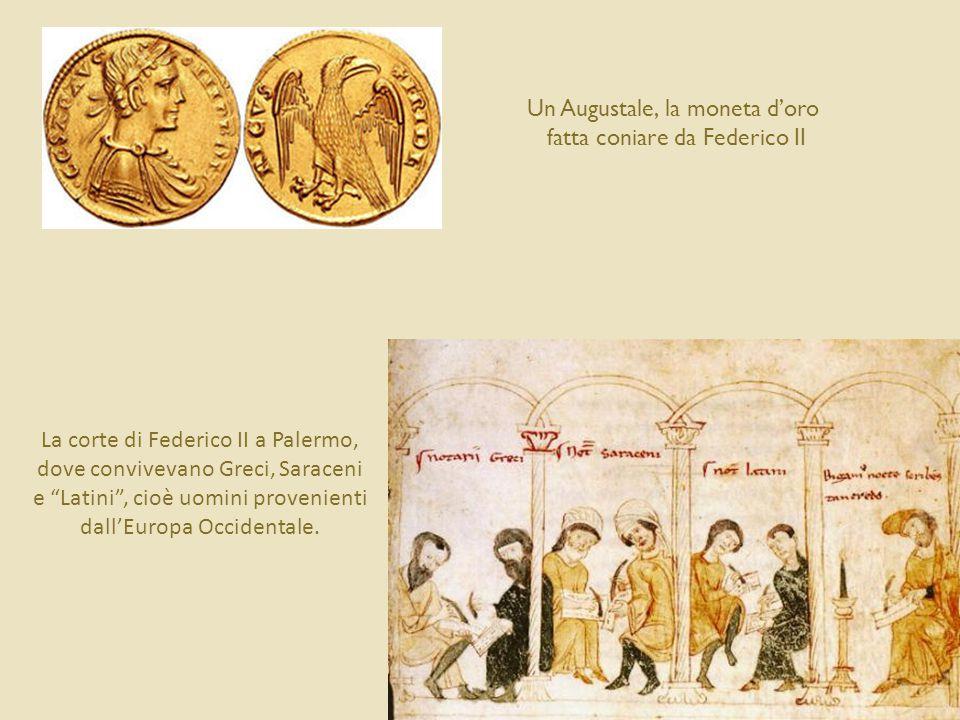 Un Augustale, la moneta d'oro fatta coniare da Federico II