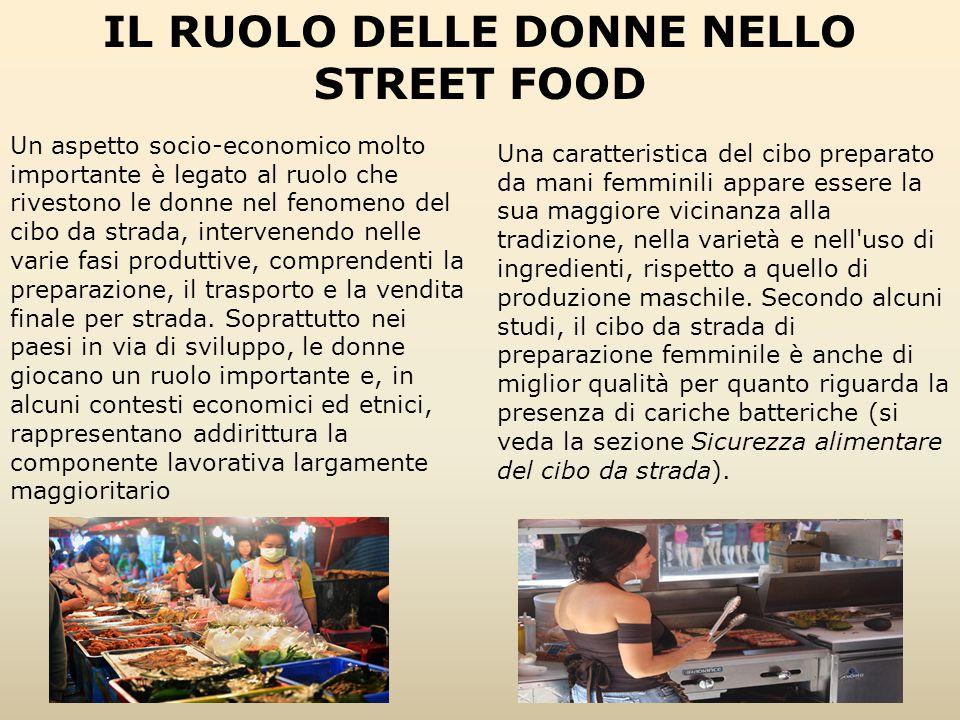 IL RUOLO DELLE DONNE NELLO STREET FOOD