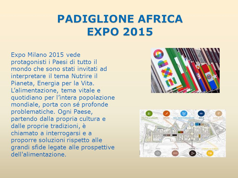 PADIGLIONE AFRICA EXPO 2015