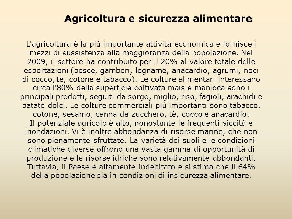 Agricoltura e sicurezza alimentare