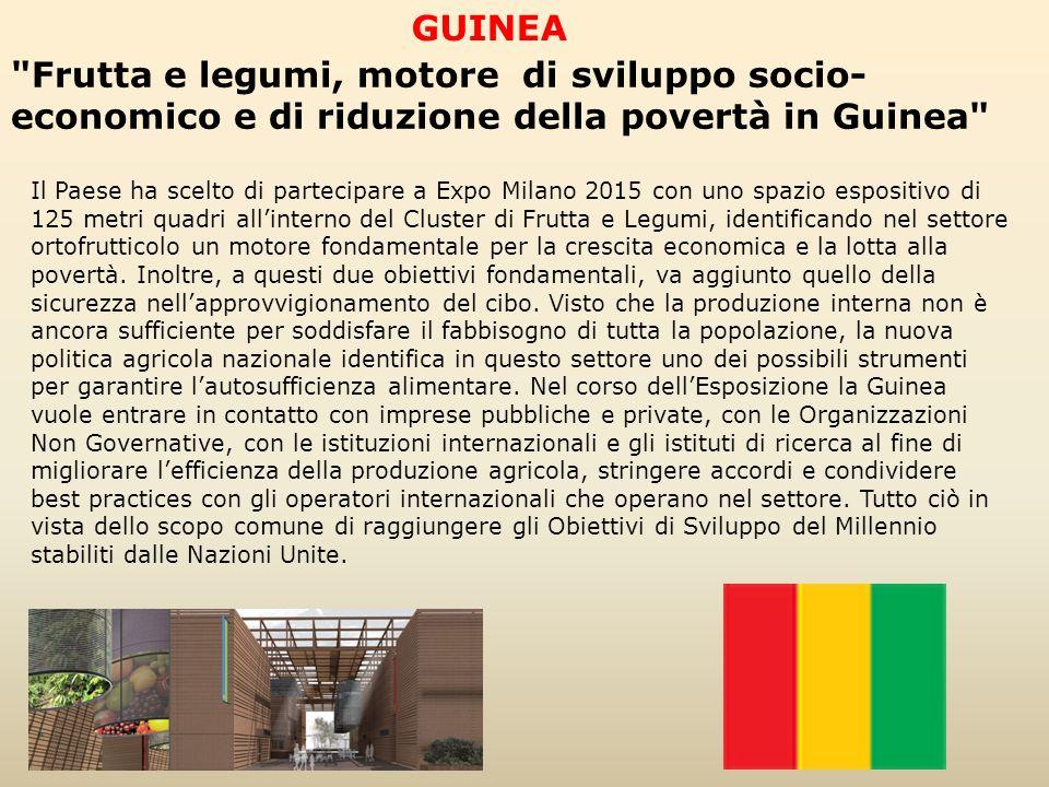 GUINEA Frutta e legumi, motore di sviluppo socio-economico e di riduzione della povertà in Guinea