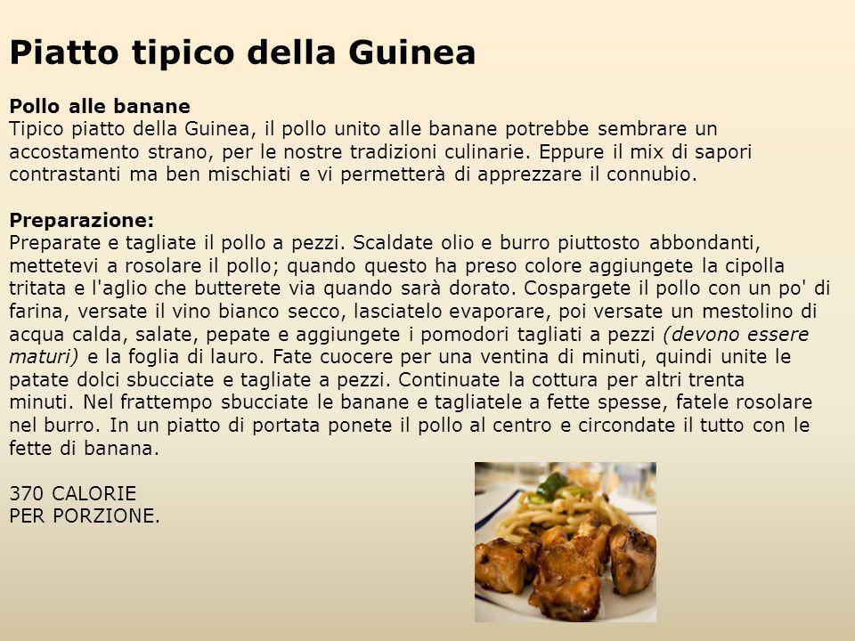 Piatto tipico della Guinea