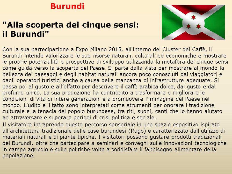 Alla scoperta dei cinque sensi: il Burundi