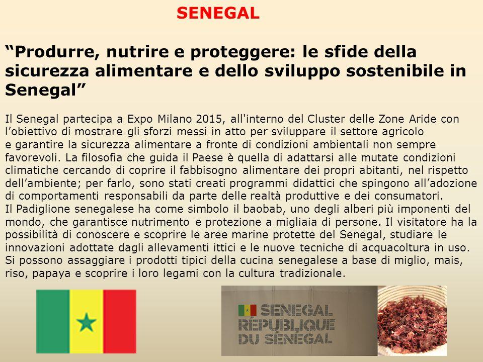 SENEGAL Produrre, nutrire e proteggere: le sfide della sicurezza alimentare e dello sviluppo sostenibile in Senegal