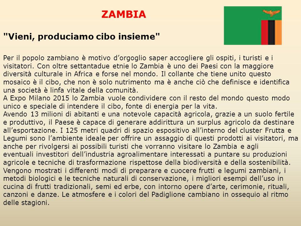 ZAMBIA Vieni, produciamo cibo insieme