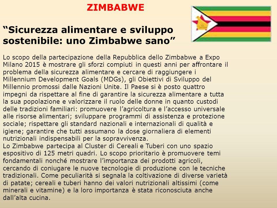 Sicurezza alimentare e sviluppo sostenibile: uno Zimbabwe sano