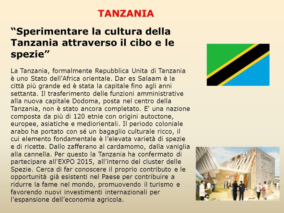 TANZANIA Sperimentare la cultura della Tanzania attraverso il cibo e le spezie