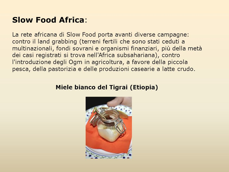 Slow Food Africa: