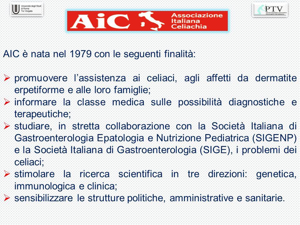 AIC è nata nel 1979 con le seguenti finalità: