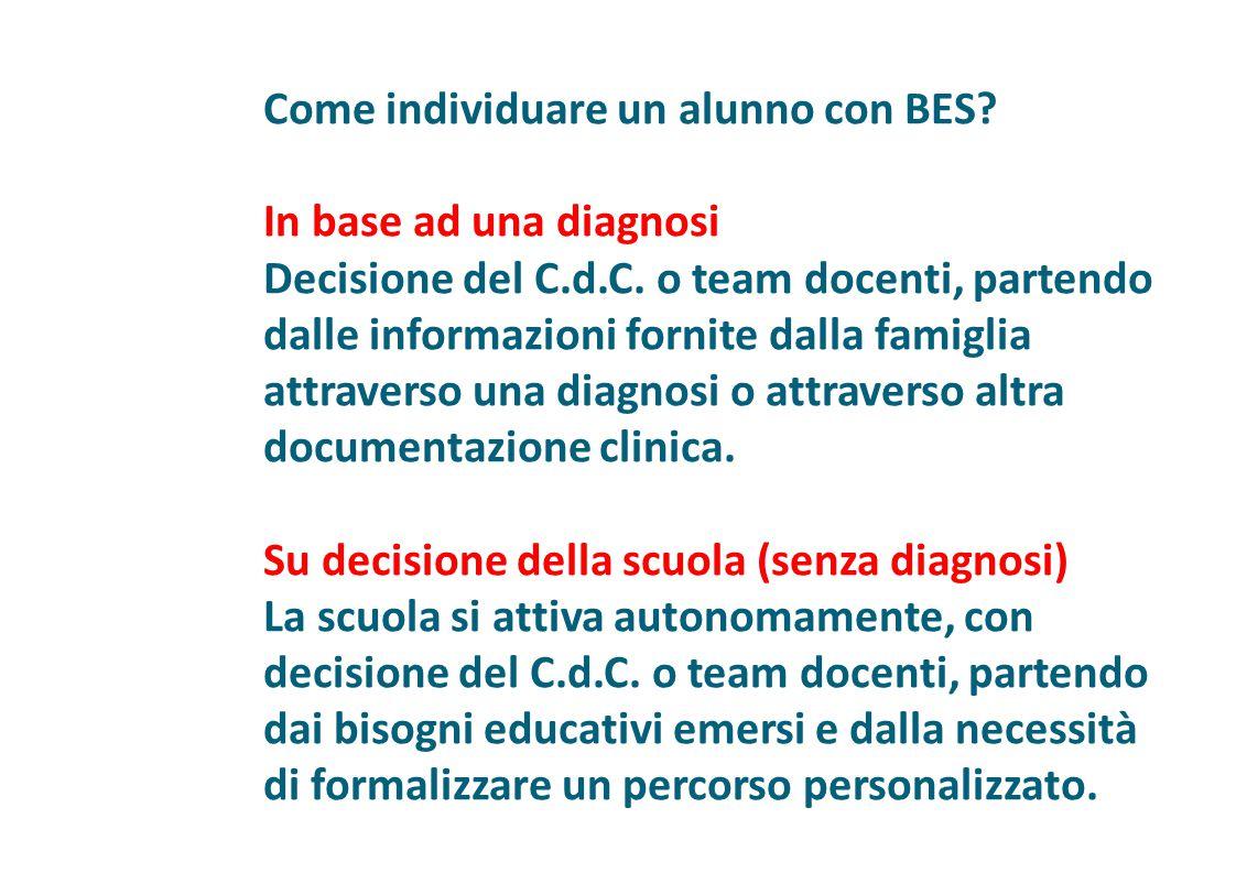 Come individuare un alunno con BES