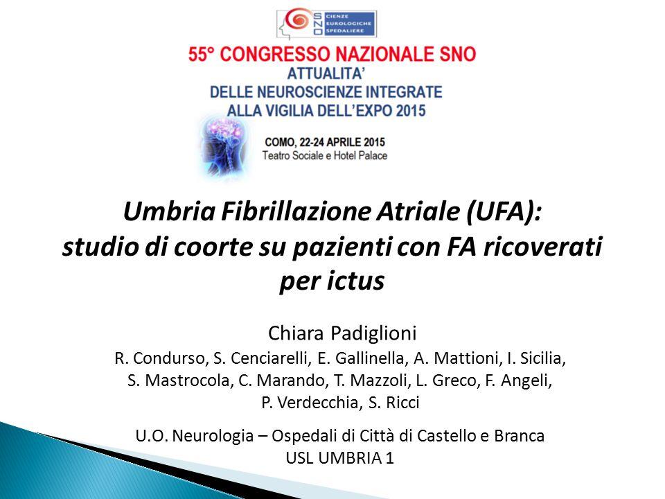 Umbria Fibrillazione Atriale (UFA):