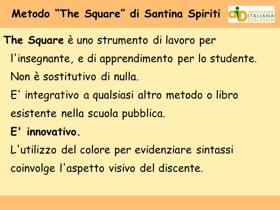 Metodo The Square di Santina Spiriti
