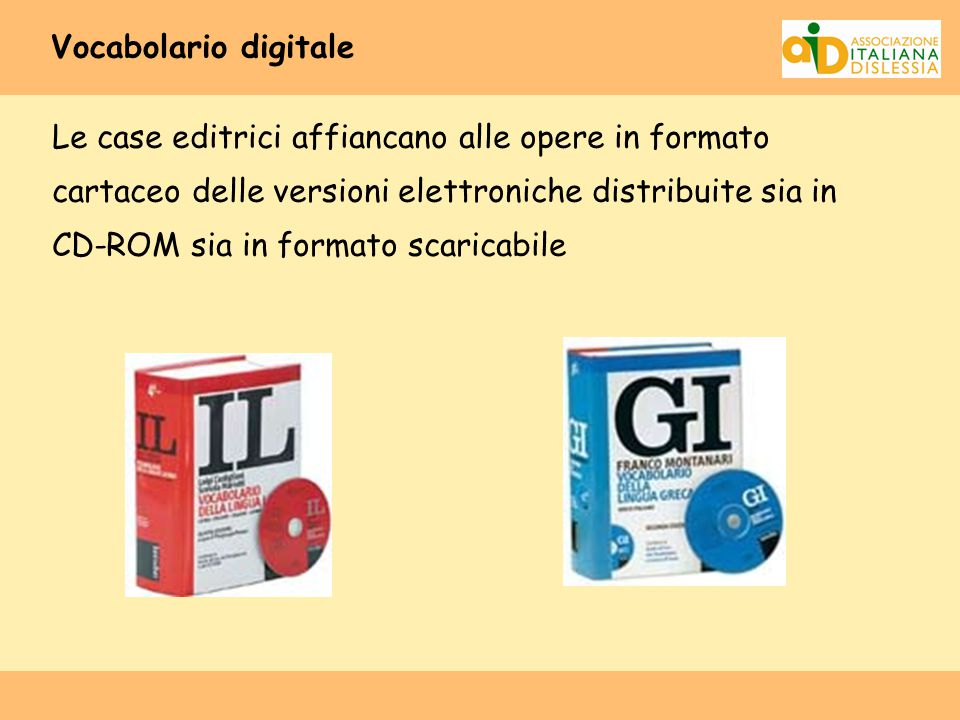 Vocabolario digitale