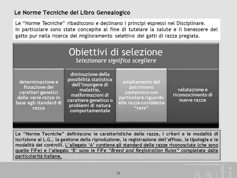 Le Norme Tecniche del Libro Genealogico