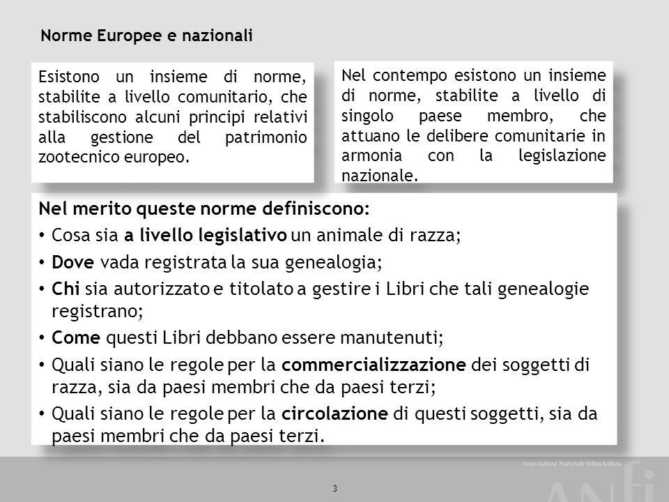Norme Europee e nazionali
