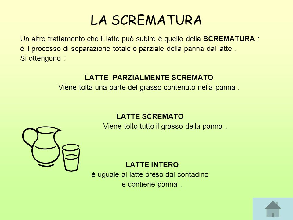 LATTE PARZIALMENTE SCREMATO